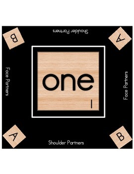 Scrabble Table Mats