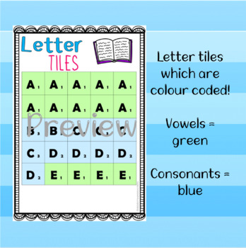Scrabble Template & Wordlist!