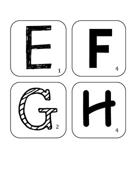 Scrabble Word Wall Game Letters