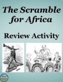 Scramble For Africa Review Activity
