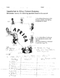 Scramble for Africa: Berlin Conference Cartoon assignment & reading