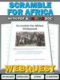 Scramble for Africa (Imperialism in Africa) - Webquest with Teacher Key