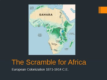 Scramble for Africa Powerpoint