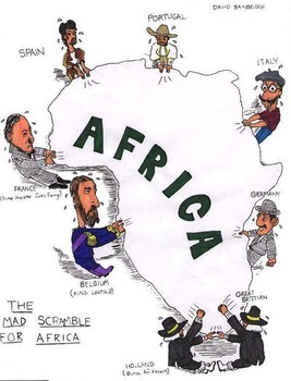 Scramble for Africa Simulation