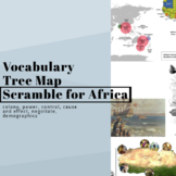 Scramble for Africa Vocab Tree Map