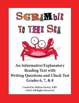 Nonfiction Reading and Questions for Grades 6 - 8