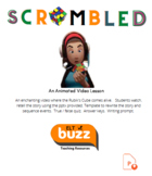 Scrambled. Animated video short. Rubik's Cube. Writing. Retelling the Story. ESL