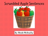 Scrambled Apple Sentences