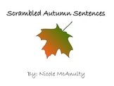 Scrambled Autumn Sentences