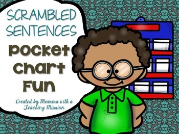 Scrambled CVC Sentences