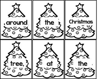 Scrambled Christmas Song Sentences