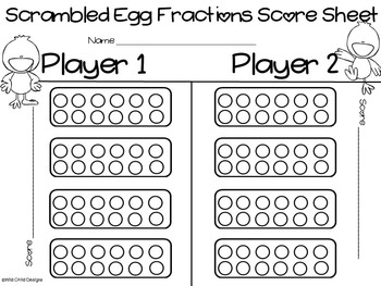 Math Game: Adding Fractions With Unlike Denominators