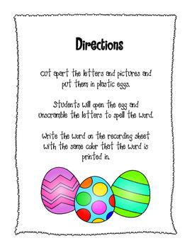 Scrambled Egg Hunt