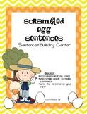 Scrambled Egg Sentences Center