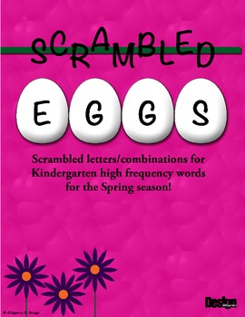 Scrambled Eggs - Easter Activity for Kindergarten!