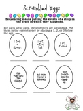 Scrambled Eggs - Sequencing Activity