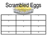 Scrambled Eggs (Spelling practice K-5)