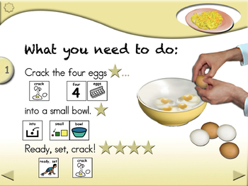 Scrambled Eggs for Two - Animated Step-by-Step Recipe PCS