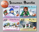 Snowman Bundle - Animated Step-by-Steps™ - PCS