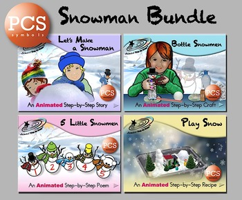 Snowman Bundle - Animated Step-by-Steps™ PCS