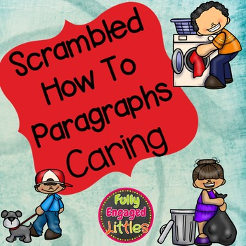 Scrambled How To Paragraphs-Caring
