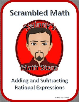 Scrambled Math: Adding and Subtracting Rational Expressions