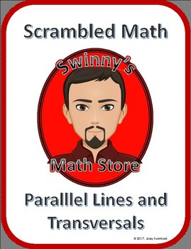 Scrambled Math: Parallel Lines Cut by a Transversal