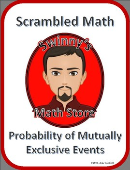 Scrambled Math: Probability of Mutually Exclusive Events