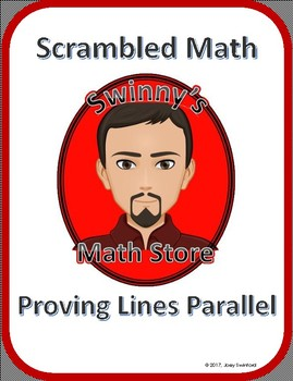 Scrambled Math: Proving Lines Parallel