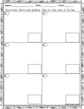 Scrambled Math: Rhombus Properties