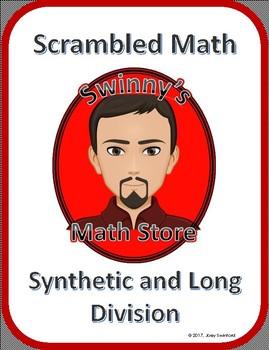 Scrambled Math: Synthetic and Long Division