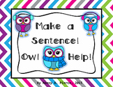 Scrambled Owl Sentences!