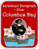 Scrambled Paragraph + Plus: Columbus Day