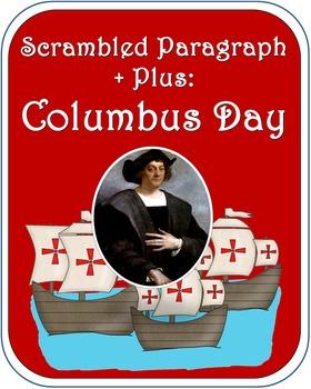 Scrambled Paragraph + Plus: Columbus Day