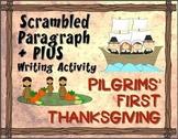 Pilgrims' First Thanksgiving: Scrambled Paragraph + Plus