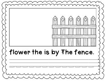 Scrambled Sentence Book