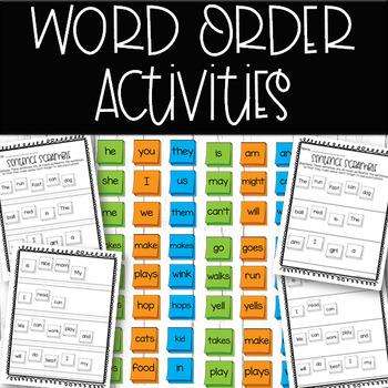 Word Order Practice