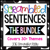 Scrambled Sentences Thematic Bundle