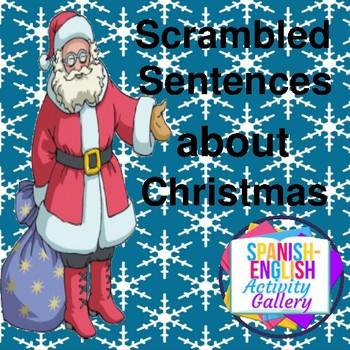 Scrambled Sentences About Christmas