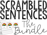 Scrambled Sentences All Year Long! (The Bundle)