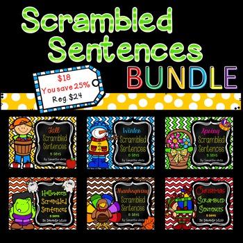 Scrambled Sentences {BUNDLE}