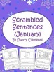 Scrambled Sentences Bundle (January-June)
