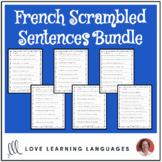 Scrambled Sentences - Bundled French Resources