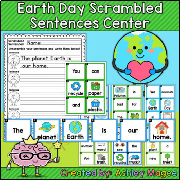 Scrambled Sentences Center - The Bundle - Holiday, Seasonal, Themes