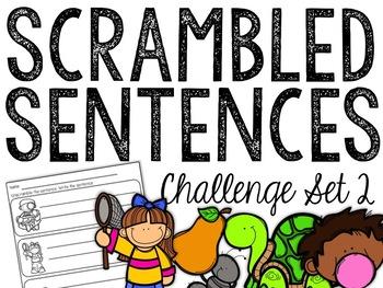 Scrambled Sentences: Challenge Set 2