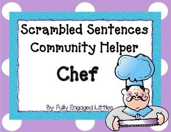Scrambled Sentences Chef FREE