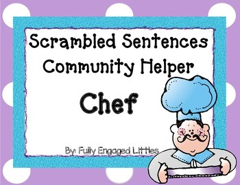 Scrambled Sentences Chef FREE