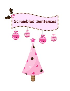 Scrambled Sentences ~ Christmas