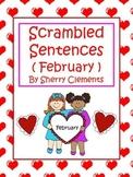 February Scrambled Sentences