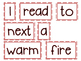 Scrambled Sentences - January